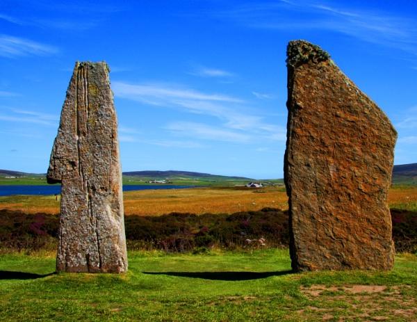 Standing Stones - Ring of Brodgar by Pearybhoy