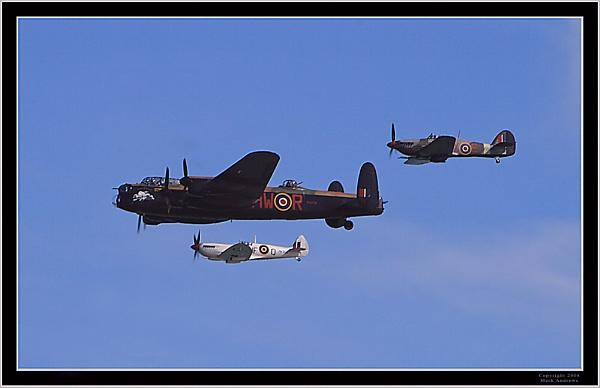 Battle of Britain Memorial Flight by mark1309