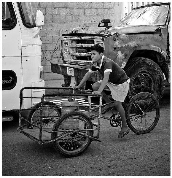 Boy on trike by _Helena_
