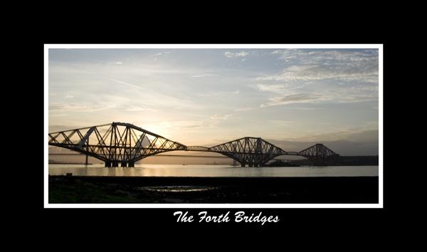 The Forth Bridges by mikksue