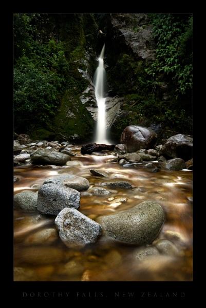 Dorothy Falls, New Zealand by nickwalker9