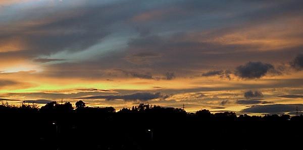 red sky by geosami