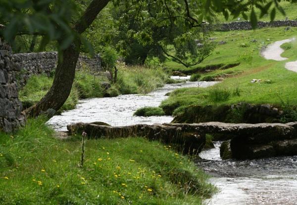 River at Malham by JanieB43