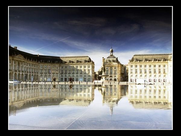 Bordeaux reflections by sputnki