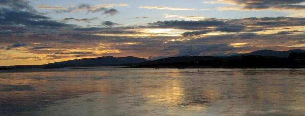 Connel Bridge Sunset by kaylesh