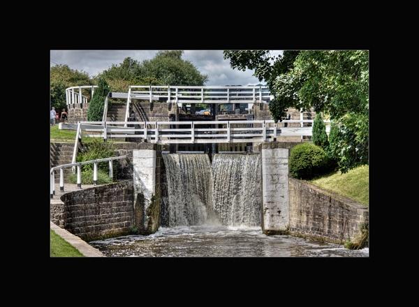 Dowley Gap locks by bigheart.