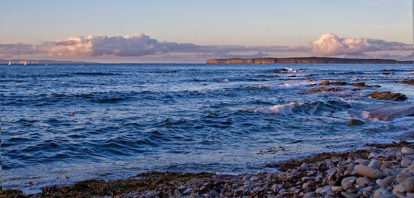 Dunnet Head & Orkney Sunset by rowarrior
