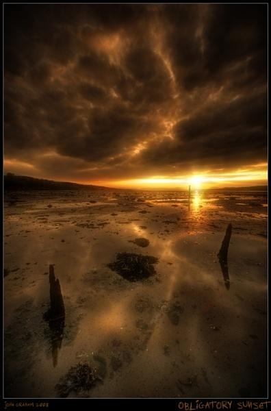 Obligatory Sunset by JohnnyGraham