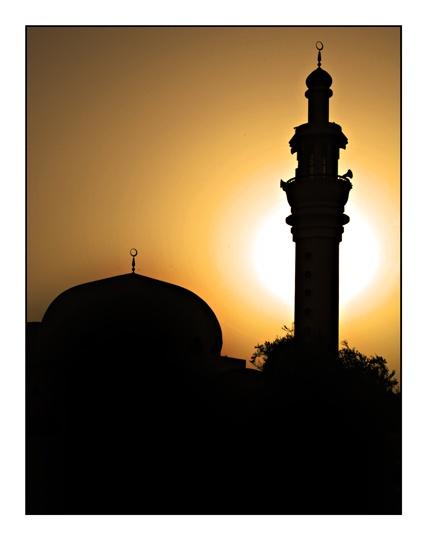 Sunset Mosque by dennisg