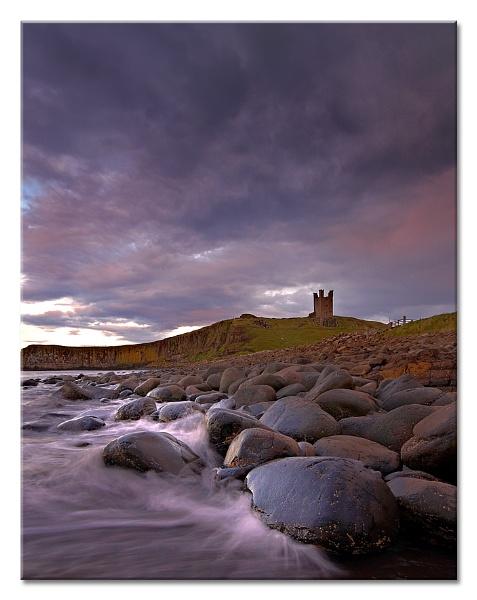Dunstanburgh Splash by MrsS