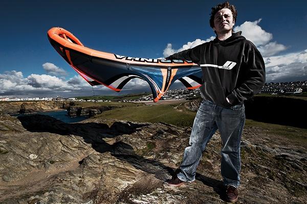 Kitesurfer Portrait by layts