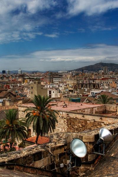 A view of Barcelona by Bradfleet12