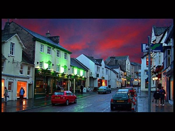 Kendal Street Scene by Kirkby