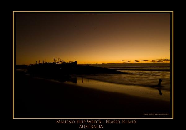 Maheno Ship wreck by davidsaenzchan