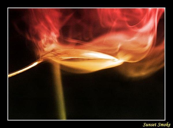 Sunset Smoke by kay_pink