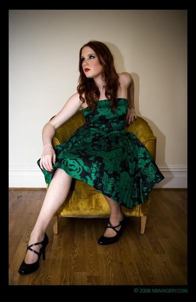 Girl in Green Dress by NickBradley