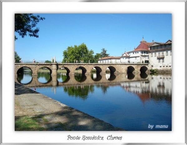 Romanesque Bridge of Chaves by manuruca