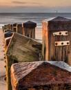 Sea defence by Steve Cribbin