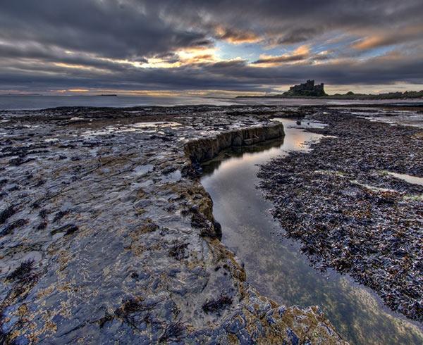 Bamburgh Seascape by davey