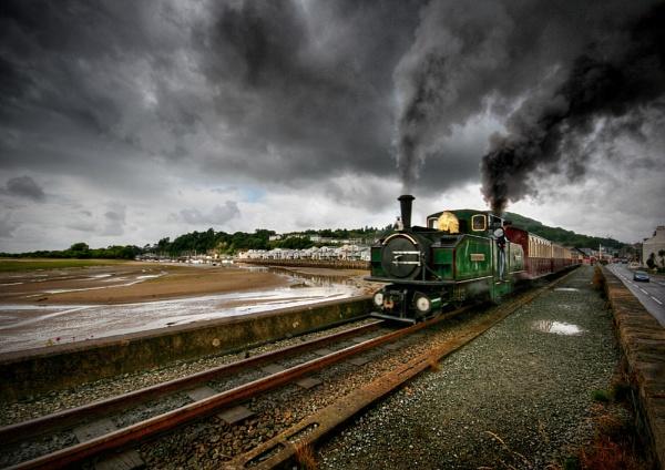 Little Train Big Smoke by AngieLatham
