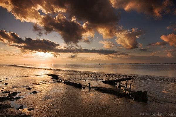 Breydon Sunset by kennyoak