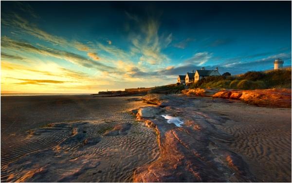 Red Rocks Sunset by Brenty