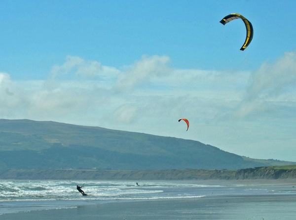 Kiteboarding by G_Hughes