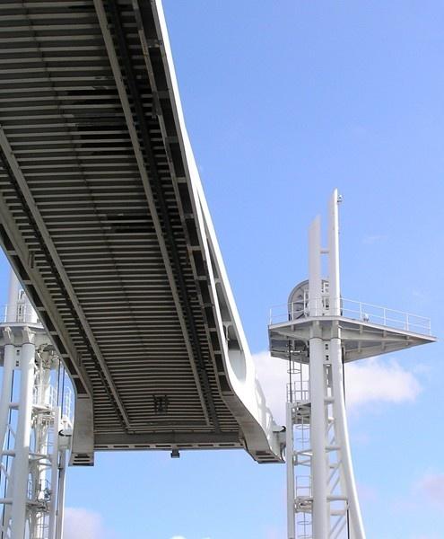 Salford dock bridge by Billyray