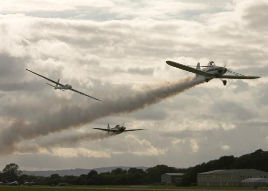 Swift Aerobatic Display Team by teocali