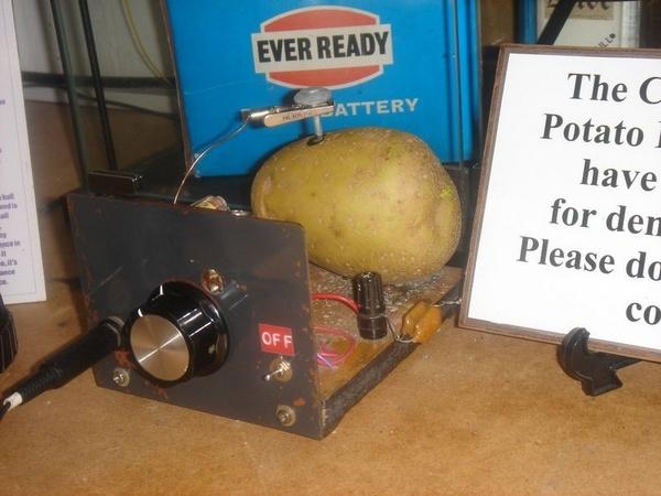 Potato Radio by TinyBrad