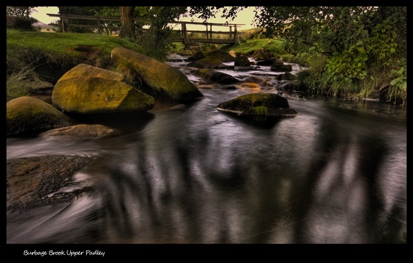 burbage brook upper padley by ATHERTON
