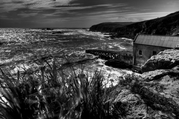 lizard point old lifeboat station by ATHERTON