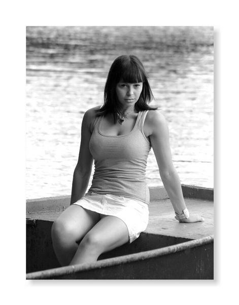 girl portrait on the boat by fasfoto