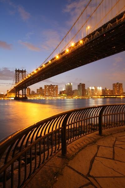 Manhattan Bridge by enfi