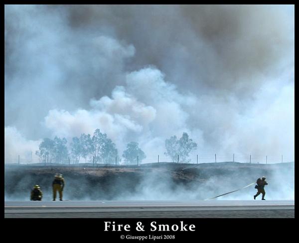 Fire & Smoke by liparig
