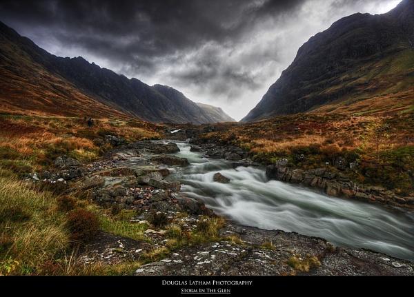 Storm In The Glen by DouglasLatham