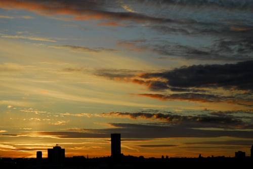 Birkenhead sunset by goll116