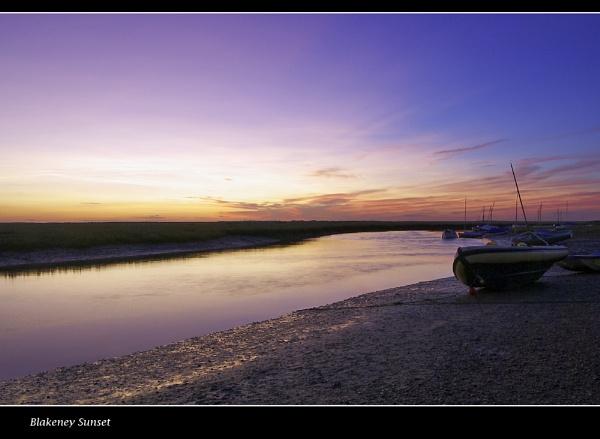 Blakeney Sunset by Bellie