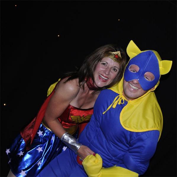 Bannana Man meets Wonderwoman by eddieg01