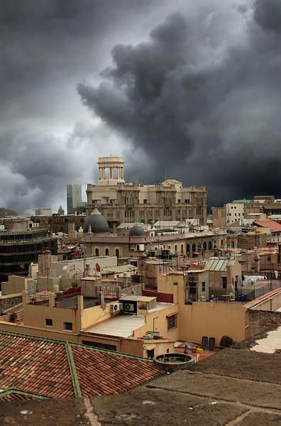 Roof Tops of Barcelona by Bradfleet12