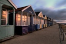 Southwold Beachhuts by Plossl