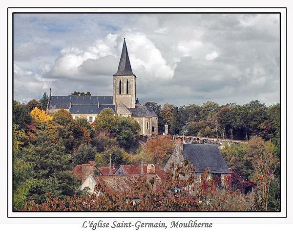 L\'église Saint-Germain, Mouliherne by Ray42