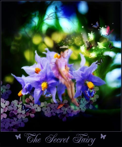 Secret Fairy by BrokenAir