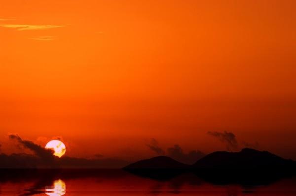 Malaga Sunrise by jackitec