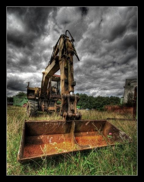 The old crane by PeterK001
