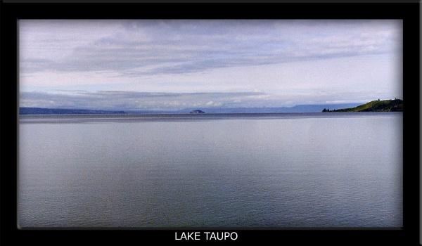 Lake Taupo by JanieB43