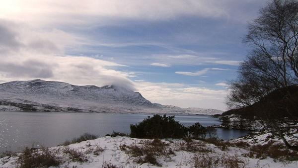 Loch Naver in winter by emacklyn