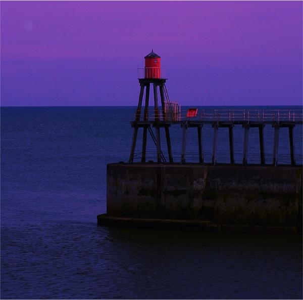 Whitby Pier by buckleyi