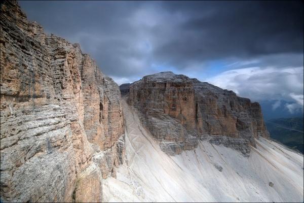 Sunlit Mountains by danielle1987