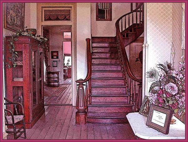 The back stairway by monashort